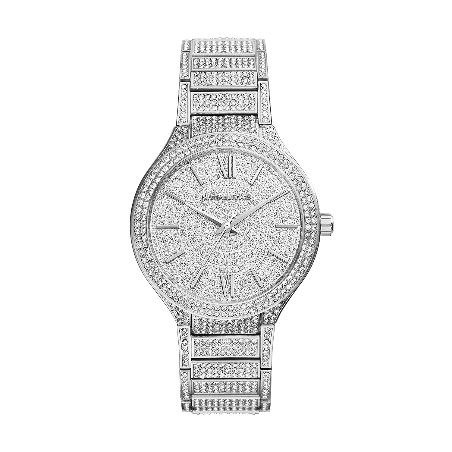 купить Michael Kors Kerry Crystal Pave Stainless Steel Ladies Watch MK3359 по цене 23343 рублей