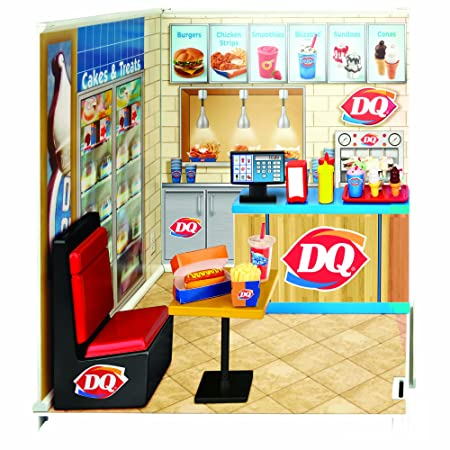 miWorld Dairy Queen Restaurant Starter Set