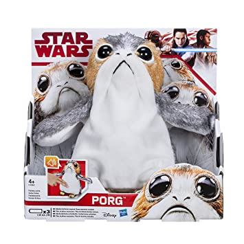 Star Wars Episode 8 - C1942EU40 - Peluche Interactive - Porg