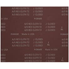 Norton K225 Metalite Abrasive Sheet, Cloth Backing, Aluminum Oxide
