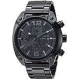 Diesel Men's DZ4223 Advanced Black Watch (Color: Black/Black)