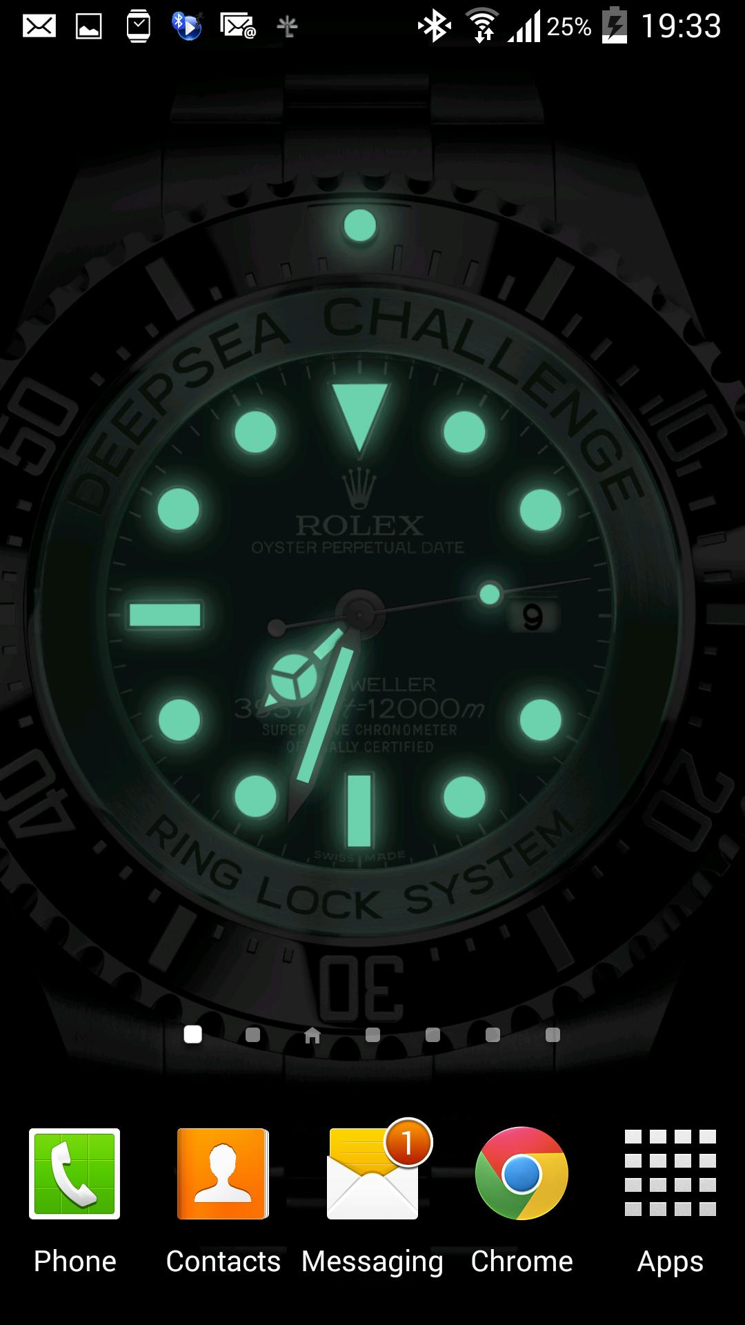 ROLEX Sea Dweller DEEPSEA Challenge Live Wallpaper