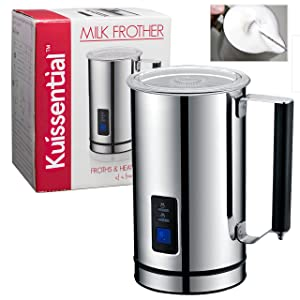 Deluxe Kuissential Automatic Milk Frother width=