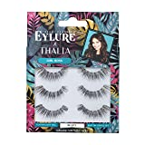 Eylure Thalia Girl Boss, Multi Pack, Reusable, Adhesive Included, 3 Pairs, 0.07 Ounce
