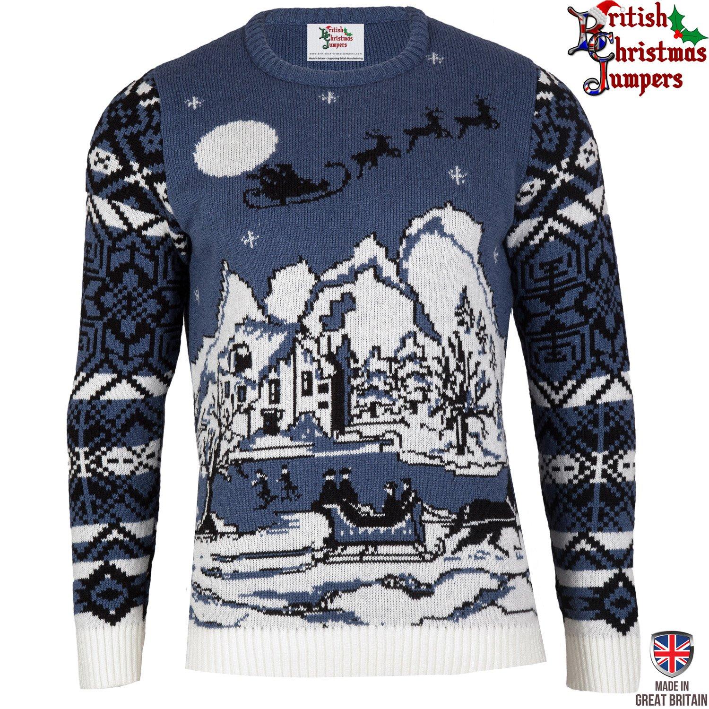 Knitted Reindeer Christmas Jumper
