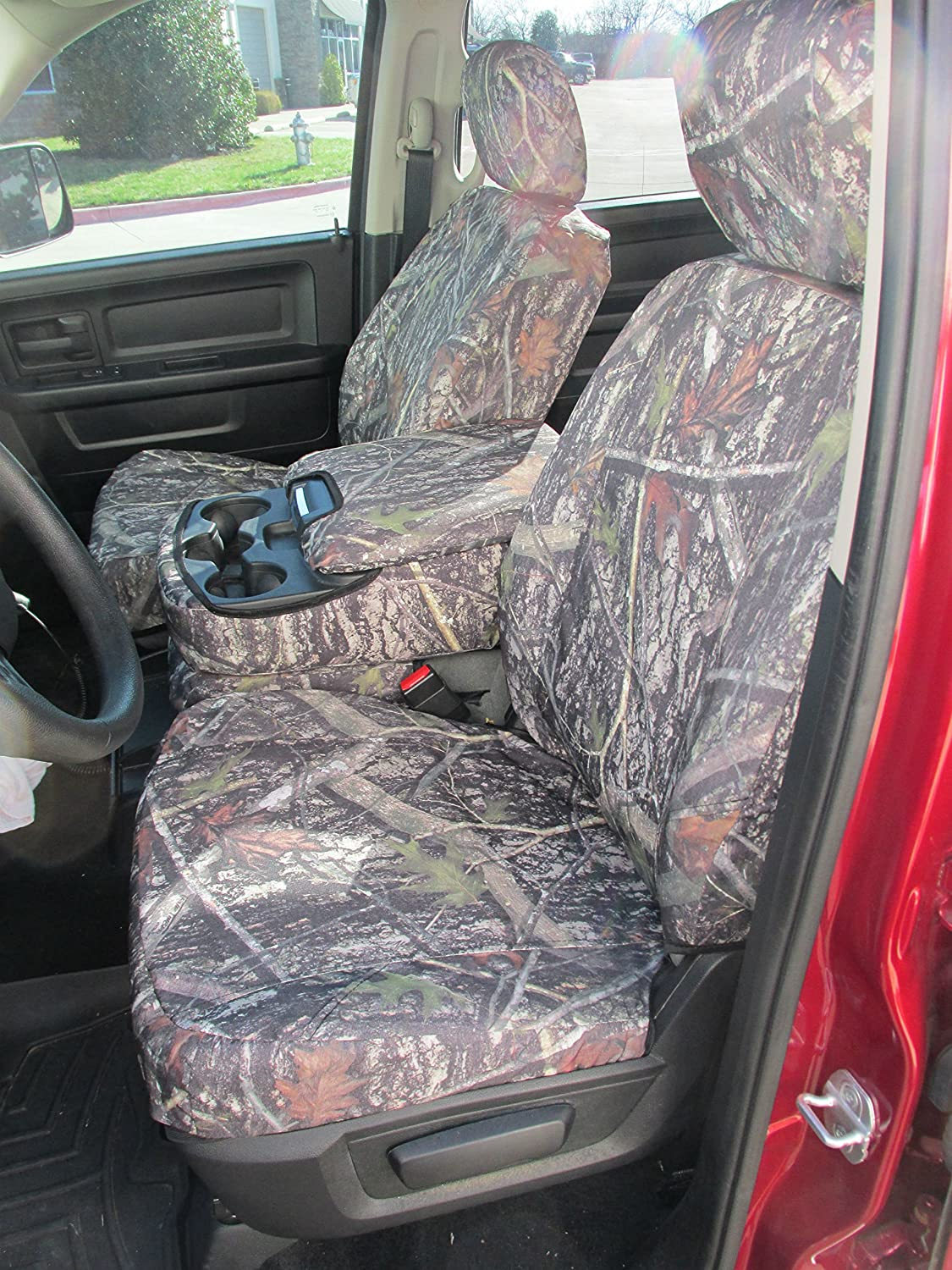 Durafit Seat Covers, D1332 XD3 C 2013-2014 Dodge Ram 1500 Seat Covers in XD3 Camo Endura. Front 40/20/40 split bench, Opening 20 section seat bottom with opening center console with 3 cup holders. Side impact airbags in seat