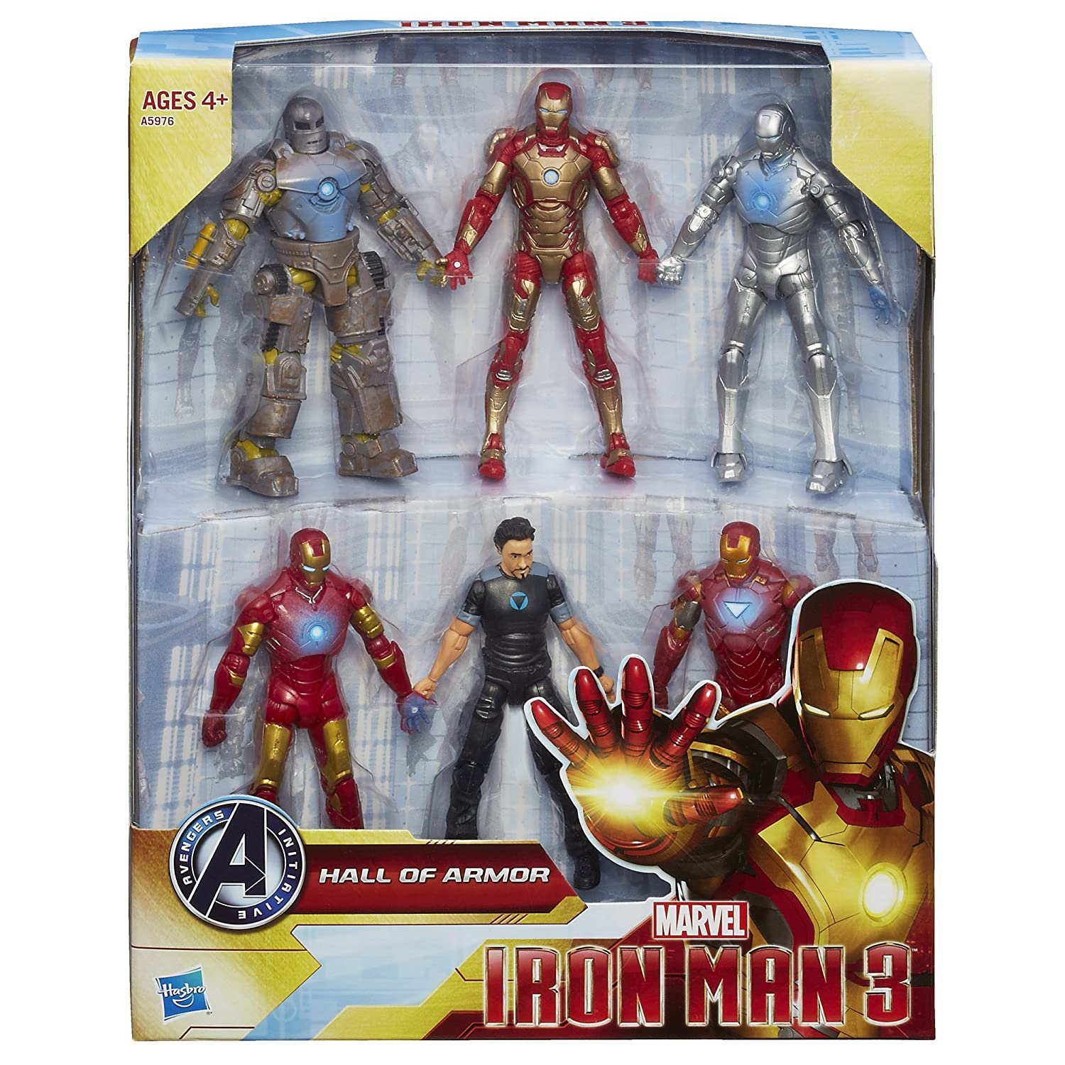 Toys For 3 And 6 : Iron man hall of armor set online at target and walmart