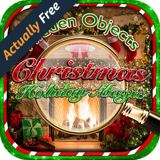 Hidden Object Christmas Holiday Magic - Merry Winter Holiday Celebration Pic Puzzle Objects Seek & Find FREE Game (Letter Quest compare prices)