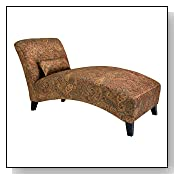 Sienna Paisley Chaise Lounge Chair