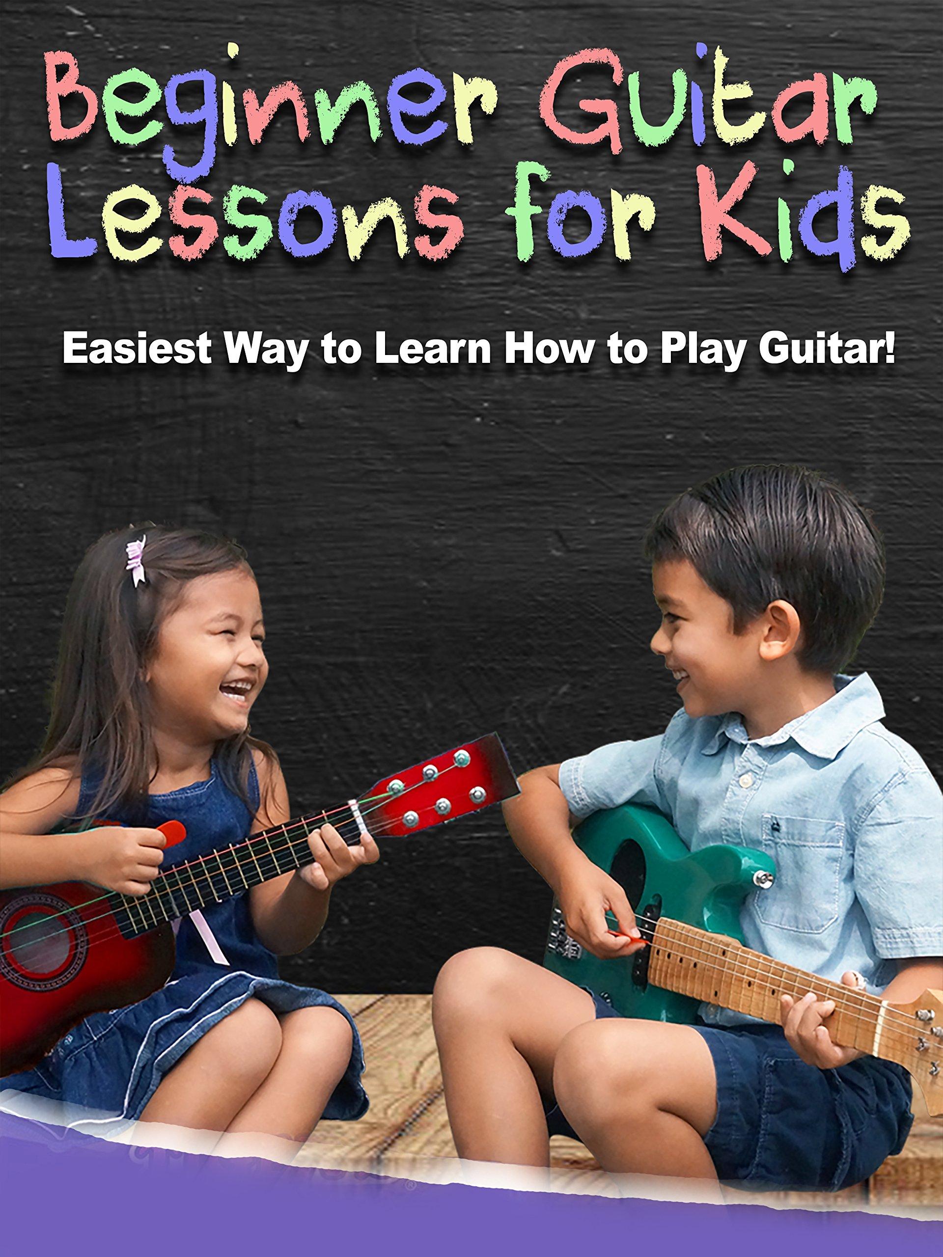 Beginner Guitar Lessons for Kids
