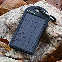 Levin 6000mAh 2-Port Solar Portable Power Bank