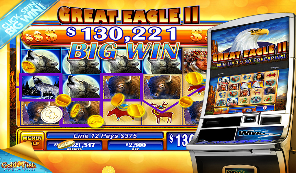 Gold fish casino slots hd appstore for android for Gold fish casino slot