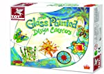 ToyKraft Glass Painting Designer Coasters