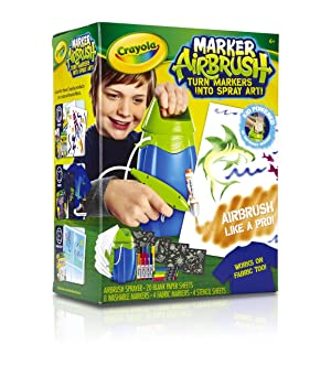 Set Aerógrafo  Crayola Marker