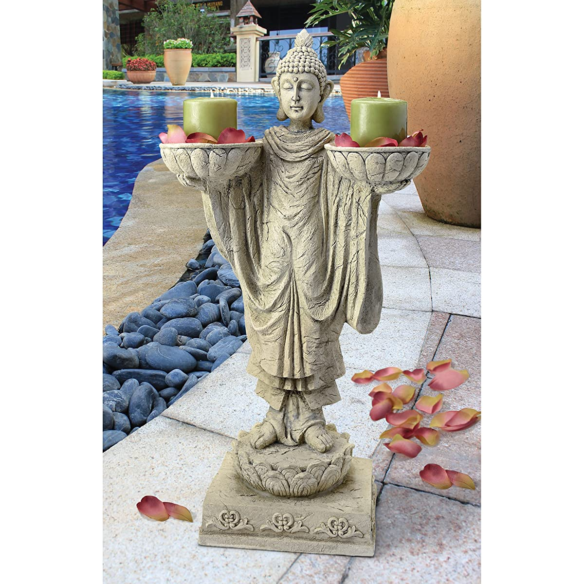 Design Toscano Avalokitesvara Buddha Garden Statue