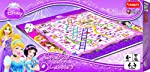 Funskool Games Funskool Disney Princess Snakes and Ladders, Multi Color
