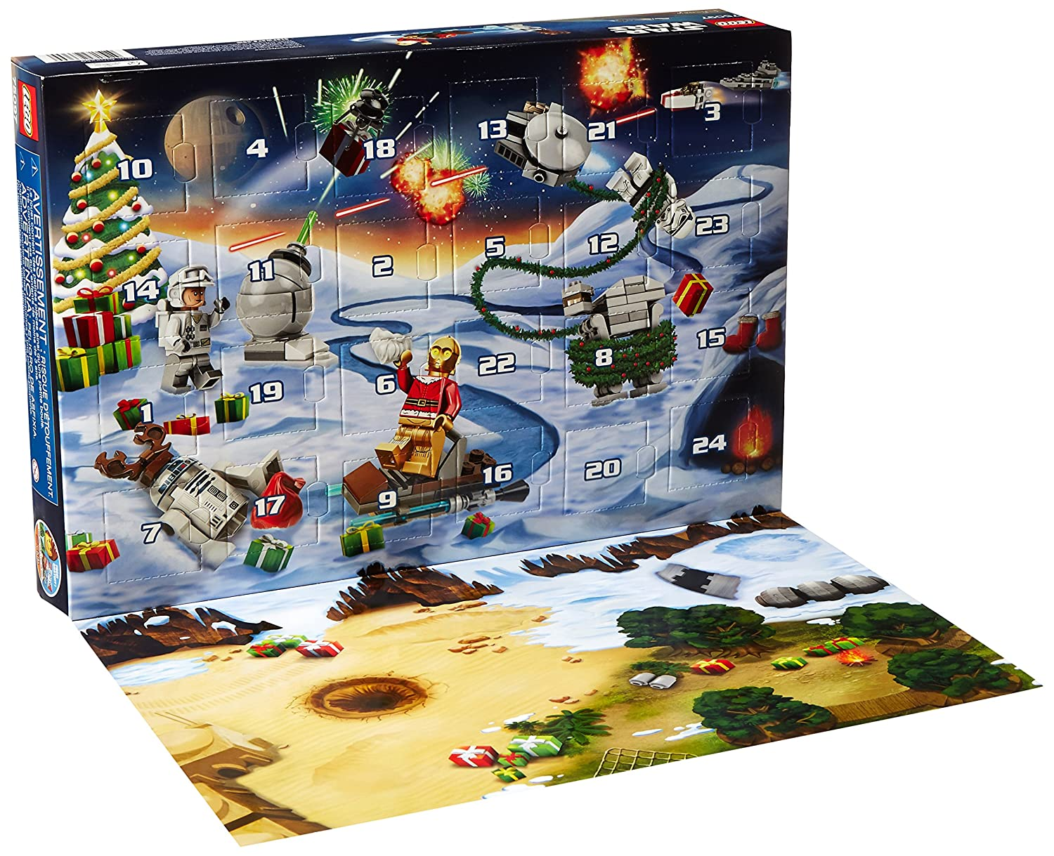 Star Wars Advent Calendar Lego Building Kit