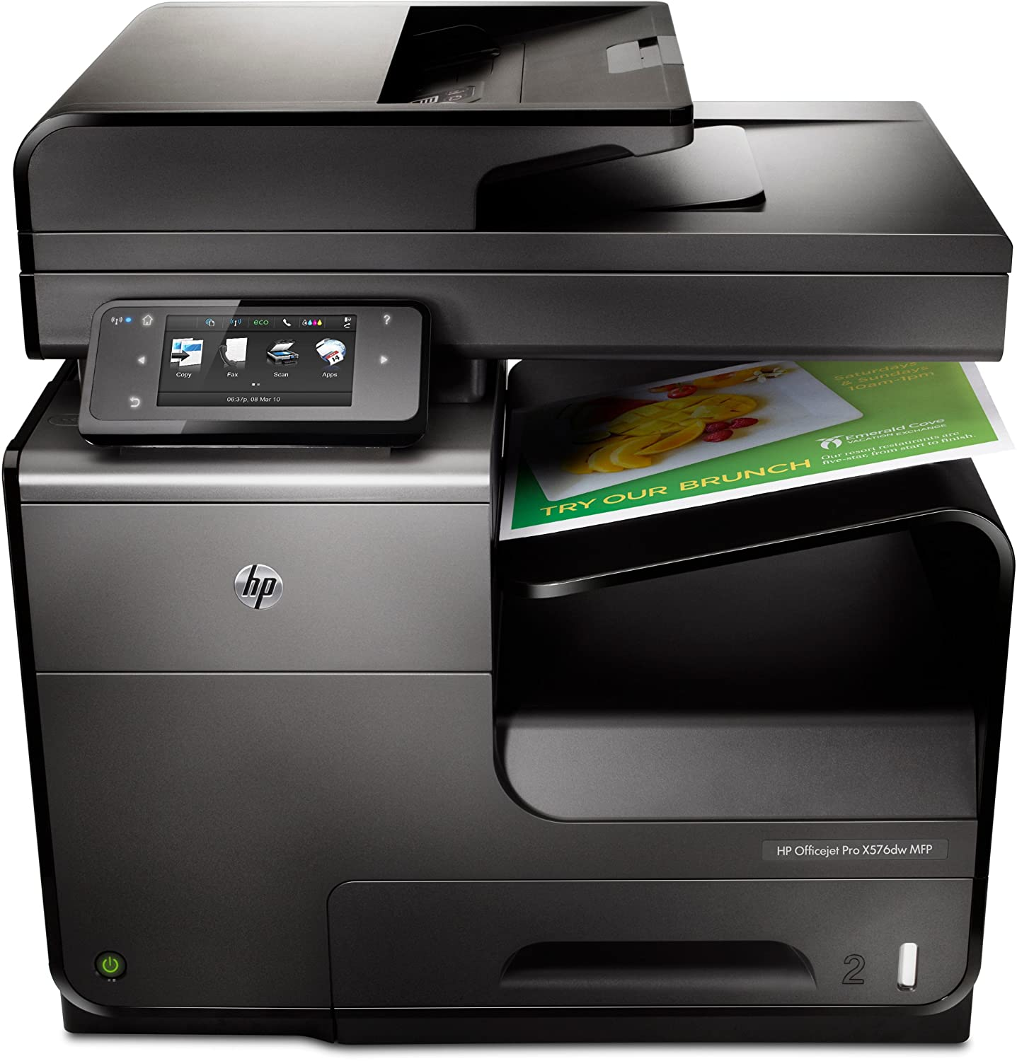 HP Officejet Pro X576dw e-All-in-One Tintenstrahl