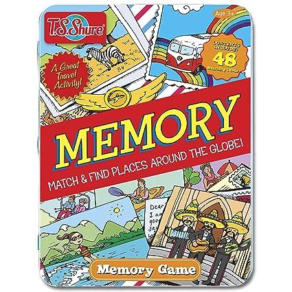 Jeu de mémoire magnétique en étain