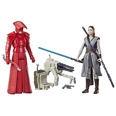 Star Wars Rey (Jedi Training) et Garde d'élite Prétorienne Paquet de 2 figurines