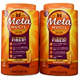 Metamucil Original with Real Sugar Value Pack - Net Wt 96.4 oz(6 LBS) 2.73kg - Orange Flavor