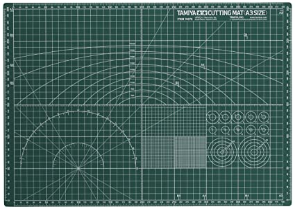Tamiya - 74076 - Accessoire Pour Maquette - Tapis De Coupe A3