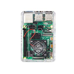 Vilros Raspberry Pi 4 Basic Kit with Fan Cooled Case (2GB) (Tamaño: 2GB)