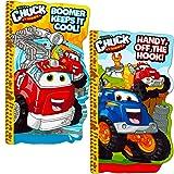 Tonka Chuck Board Book Set For Kids Toddlers (Set of 2 Tonka Board Books)