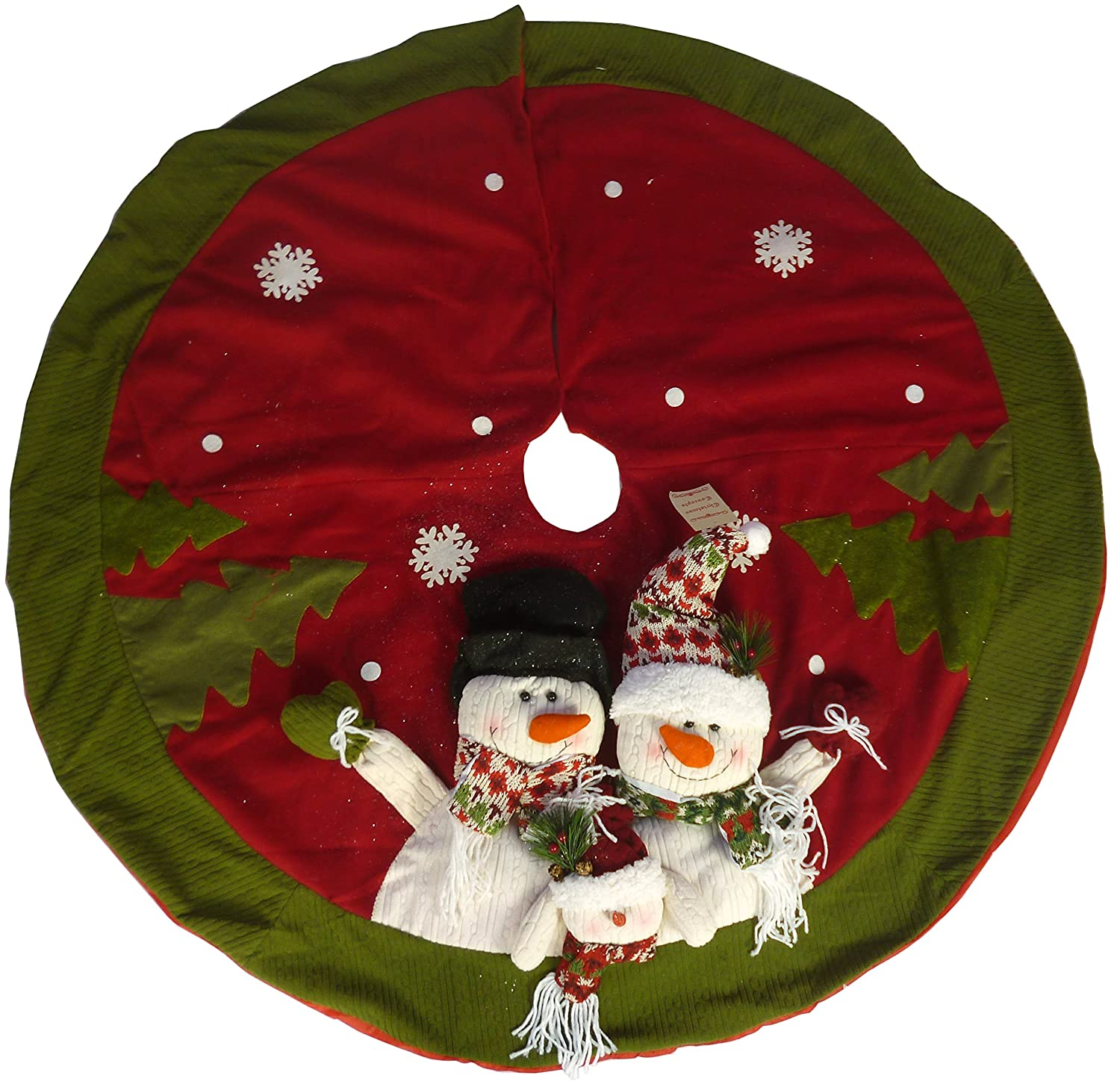 Snowman Christmas Tree Skirts | Christmas Wikii