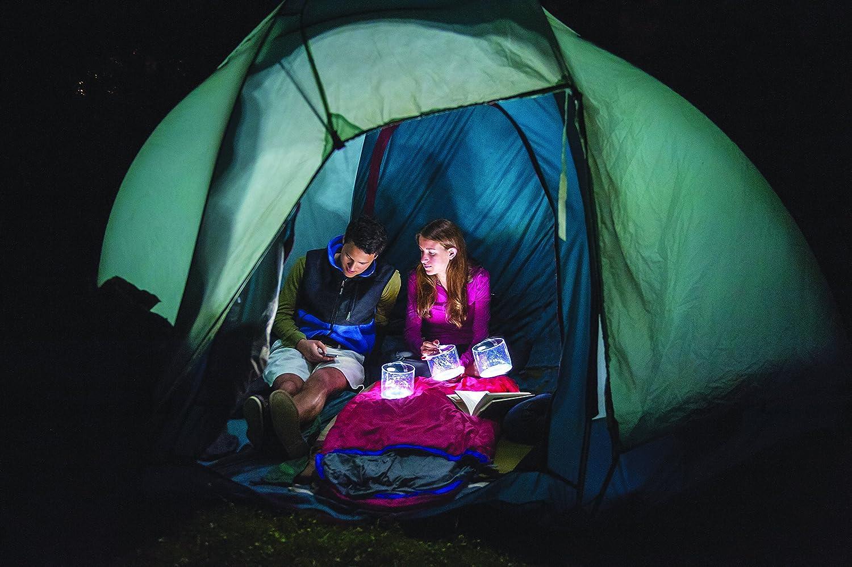 Luci Solar Light in Tent