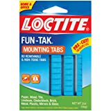 Loctite Fun-Tak Mounting Putty Tabs, 2-Ounce, 12-Pack (1865809-12) (Color: Blue, Tamaño: 12 Pack)