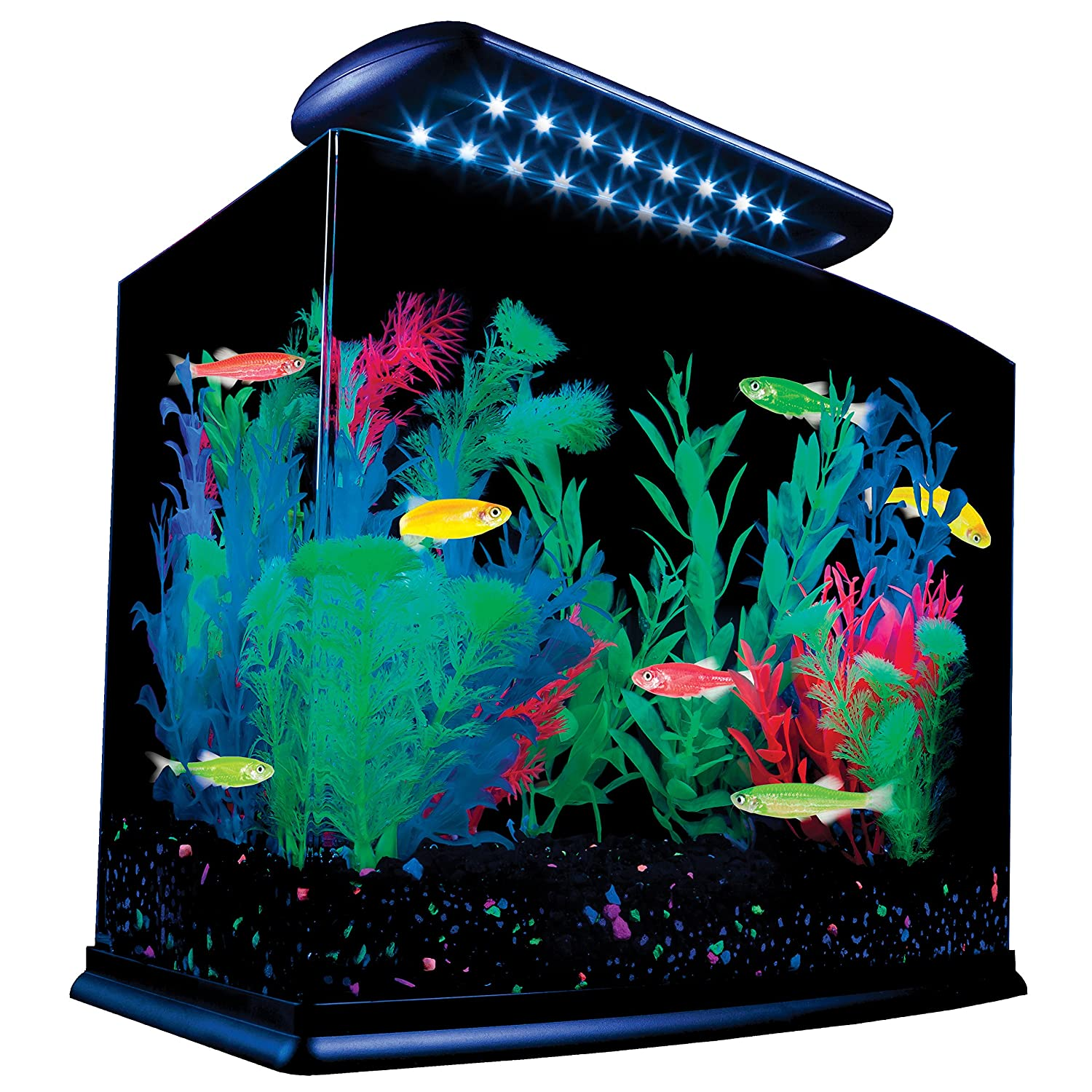 Aquarium water fish tank glass led light lamp kit decor for New fish tank