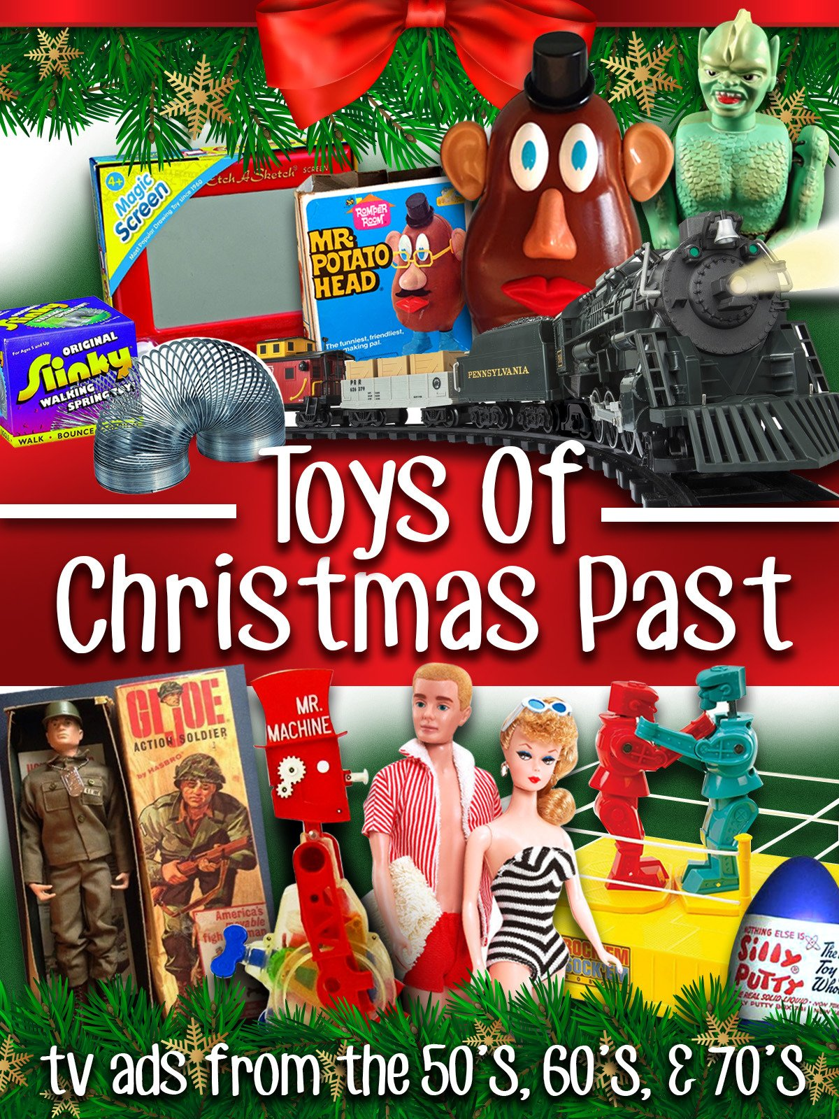 Toys of Christmas Past