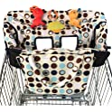 Crocnfrog 2-in-1 Shopping Cart Cover and High Chair Cover