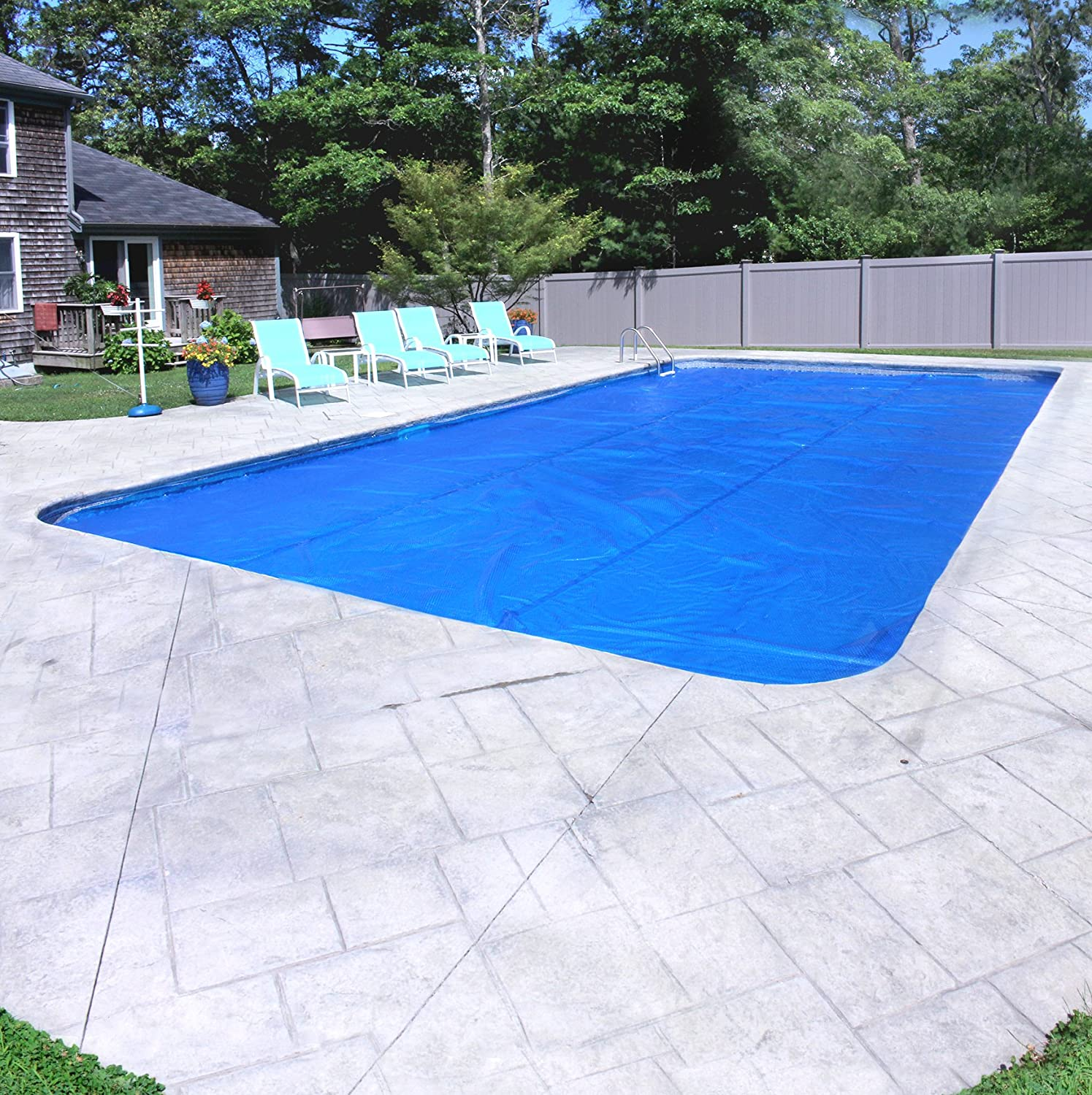 Down under blue solar cover - Above ground swimming pools tyler texas ...