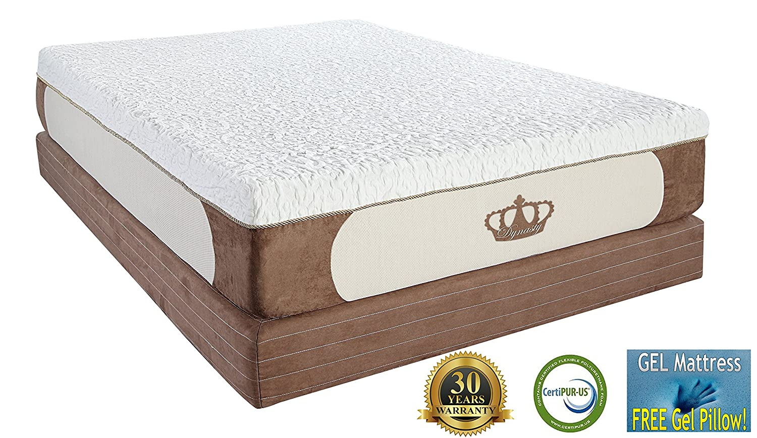 What are the best mattresses for large people for big for Best foam mattress
