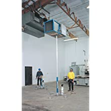 Genie Hoist, GH-3.8, Portable Lift, 300 lbs Load Capacity, Lift Height 12'