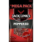 Jack Link's Meat Snacks Beef Jerky, Peppered, 8 Ounce (Tamaño: 8 Ounce)