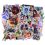 Naruto Sticker Pack[200pcs] Waterproof Vinyl Decoration for Laptop, Water Bottle, Hydroflask, MacBook, Scrapbook Home Wall Garden Window Snowboard Bumper Sticker Decal (Color: Ninja)