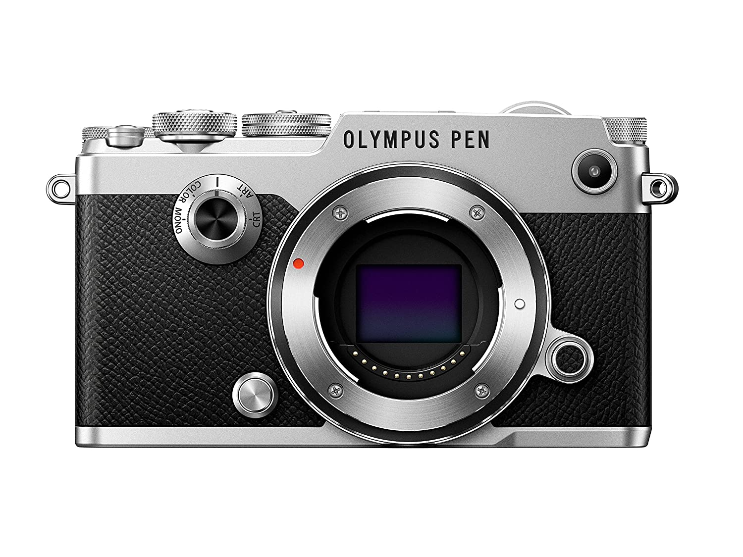 Olympus PEN-F (Body-Only) (Silver)