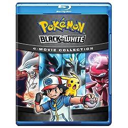 Pokemon B&W Movie Collection(BD) [Blu-ray]