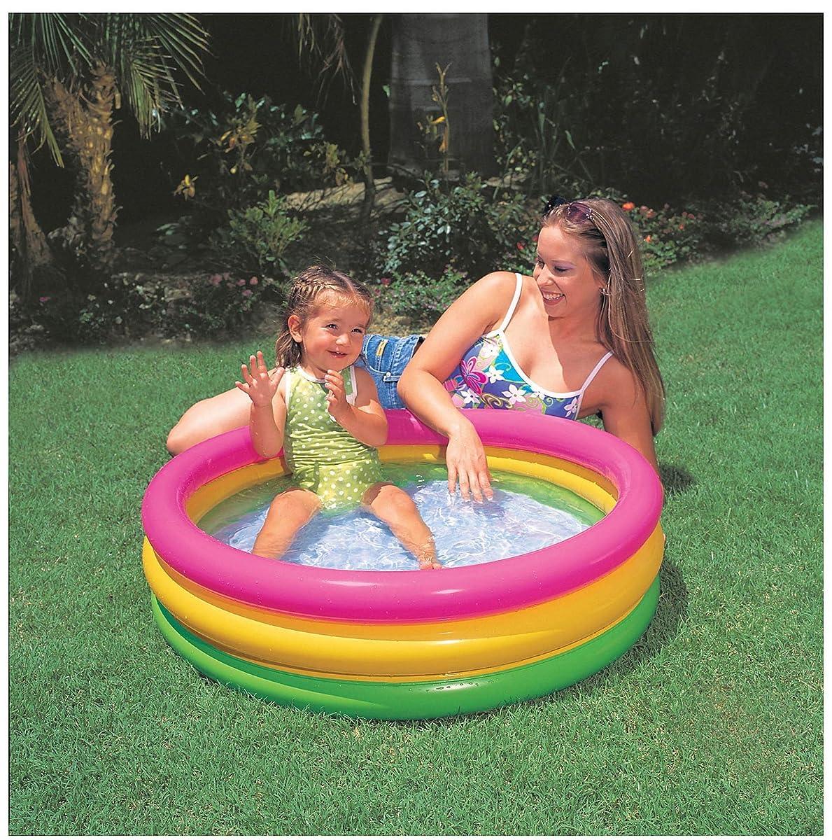 Intex Sunset Glow Baby Pool (34in x 10 in)
