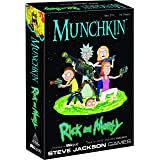 USAopoly Munchkin Rick and Morty Game (Color: Multi-colored, Tamaño: 6.2 x 1.8 x 9.2 inches)