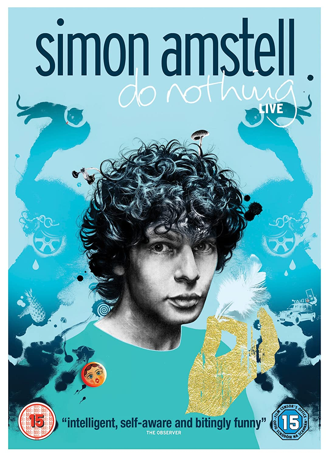 Simon Amstell - Do Nothing Live Cover