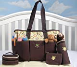 SoHo Curious Monkey 5 in 1 Deluxe Diaper Bag *Limited time offer !*