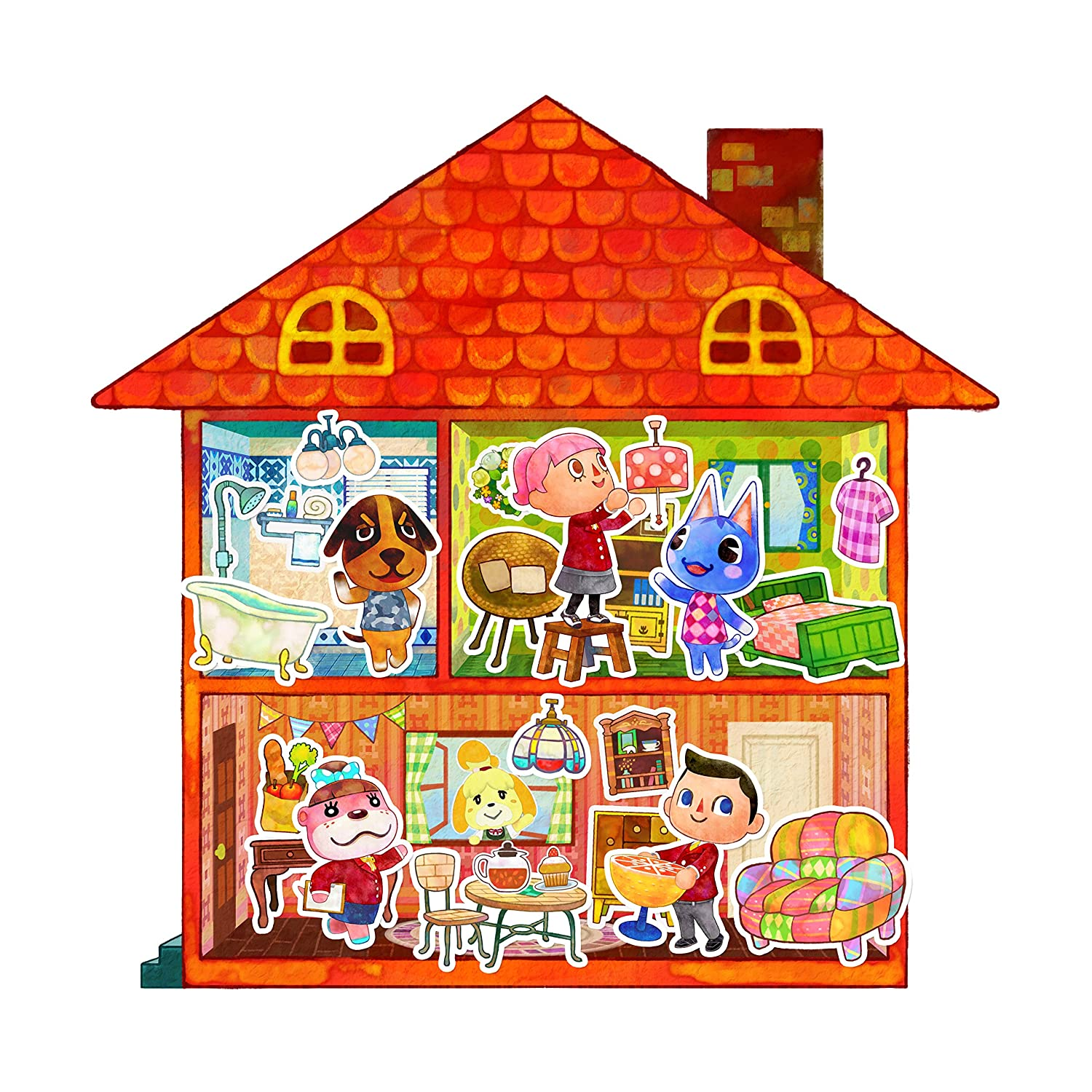 Is the animal crossing happy home designer and nintendo - Happy home designer amiibo figures ...