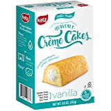 Katz Gluten free Heavenly Vanilla Crème Cakes, 8.8 Ounce, Certified Gluten Free - Kosher - Dairy, Nut, and Soy free - (Pack of 1) (Tamaño: 1 Pack)