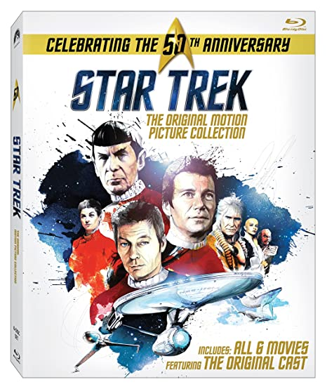 Star Trek: Original Motion Picture Collection [Blu-ray] (2016)