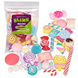 Maddie Rae's Slime Charms, Mixed Sweets 25 pcs of Slime Beads (Color: Mixed Sweets)