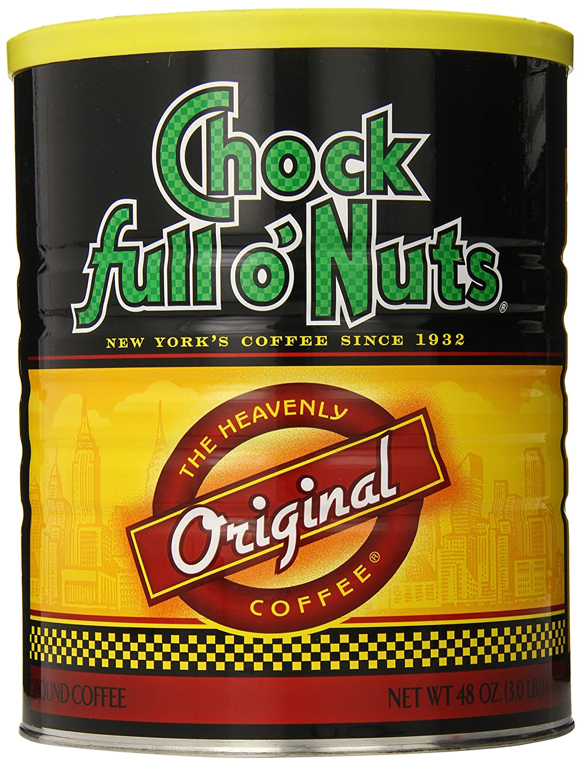 Chock Full o'Nuts Ground Coffee, Original Blend